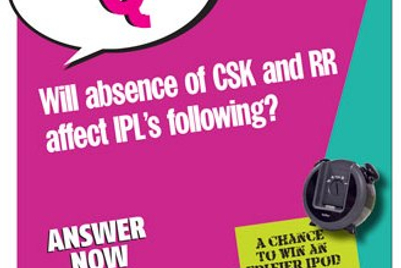 Campaign India IQ: Will absence of CSK and RR affect IPL's following?
