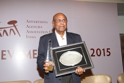 'Common sense was my only qualification': Bobby Sista, recipient, AAAI Lifetime Achievement Award 2015