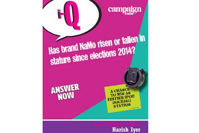 Campaign India IQ: Has brand NaMo risen or fallen in stature since elections 2014?
