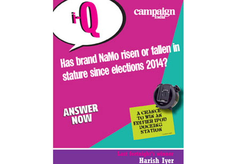 Campaign India IQ: Has brand NaMo risen or fallen in stature since elections 2014?