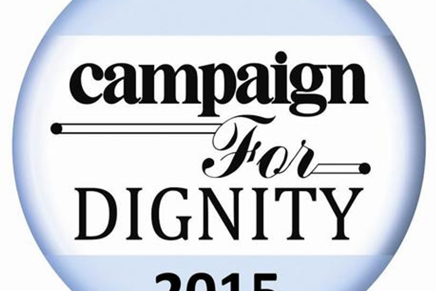 Campaign for Dignity 2015: Shortlists announced