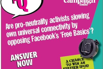 Campaign India IQ: Are pro-neutrality activists slowing own universal connectivity by opposing Facebook's 'Free Basics'?