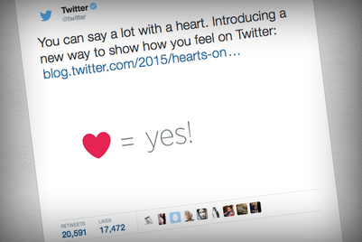 Done playing 'Favorites,' Twitter debuts 'Likes'