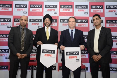 Sony ESPN to go on air on 17 January