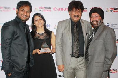 Images from PrintWeek India Awards 2013