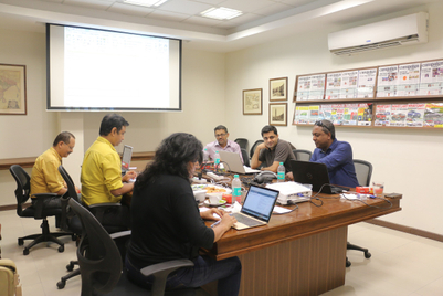 Images from the Campaign South Asia AoY jury meet