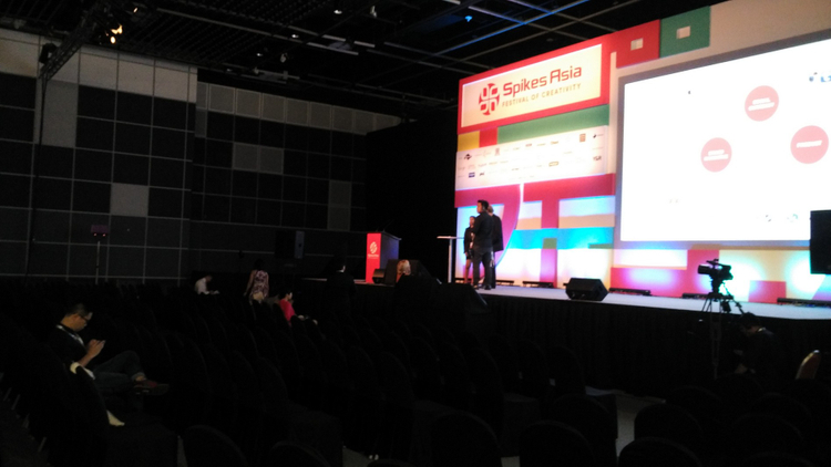 Spikes Asia 2015: Images from day two