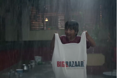 Big Bazaar salutes young boy's habit of saving, warms India to ID sale