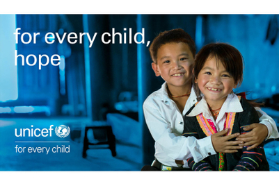 Marcel gives UNICEF a new face