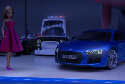 MMGB: Audi 'The doll that chose to drive'