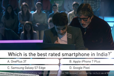 OnePlus gets Amitabh Bachchan, Rohan Joshi in a 'crorepati' exchange