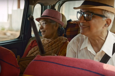 Vodafone navigates an elderly couple through their second honeymoon