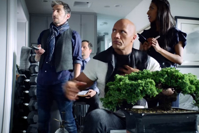 MMGB: The Rock checks off his (first) bucket list in Apple spot