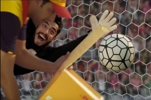 Weekend Watch: DHL takes advantage of soccer coach rivalries