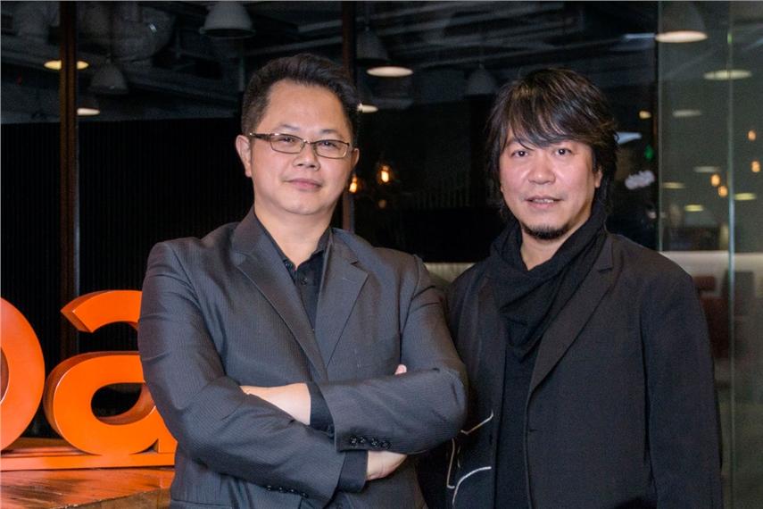 黄敏尉(左)与陈民辕(右)