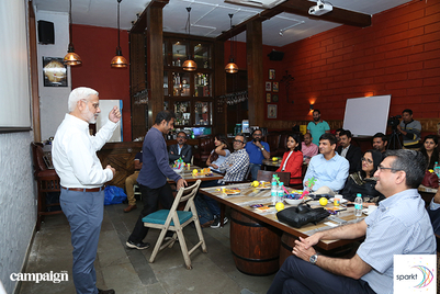 Images from R Sridhar's workshop with CMOs