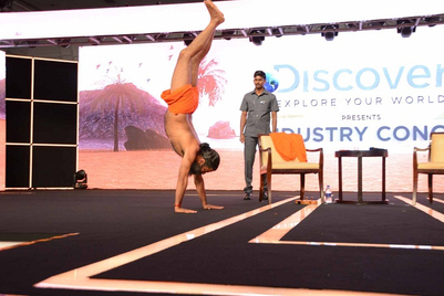 Baba Ramdev turns Goafest 2018 on its head