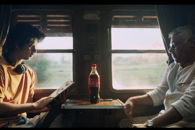 Coke's 'share' series now sees a father become a friend