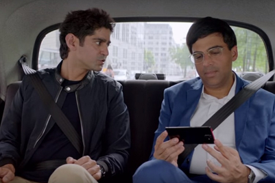 Vodafone shows playful exchange between Viswanathan Anand and Gaurav Kapur for 'smart' plans