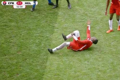 Weekend Watch: KFC mocks rolling footballers