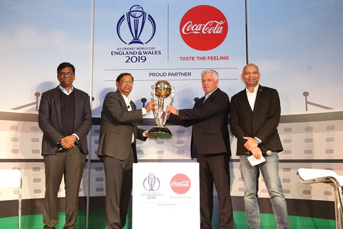 Coca-Cola partners with the ICC