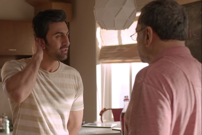Ranbir Kapoor lauds landlord Paresh Rawal's eyesight with a Coca-Cola label