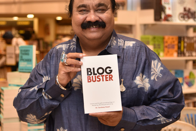 Images from the launch of BlogBuster