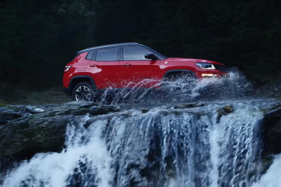 Jeep showcases its Trailhawk as a beautiful beast