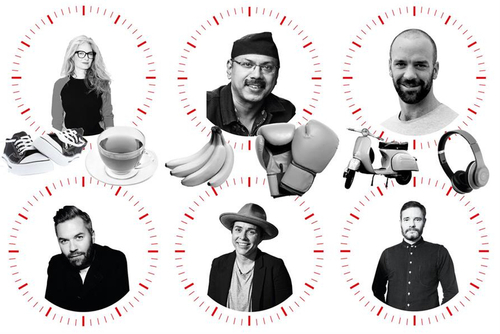The soul-feeding habits of six leading creative minds