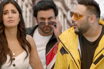 Ranbir Kapoor turns oppo-rtunist with Badshah and Katrina Kaif