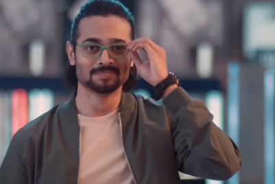 Bhuvan Bam gets out of tricky situations by switching Lenskart's light frames