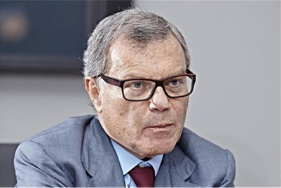 'If WPP has a 50 per cent share in the market, there's a 50 per cent chance that we'll be talking to their clients': Sir Martin Sorrell