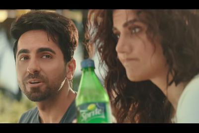 Ayushmann Khurrana confuses Taapsee Pannu, takes her Sprite