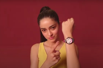 Fastrack gets Ananya Panday to deliver a quirky stay at home message