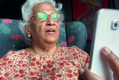 Vodafone connects the elderly with their friends
