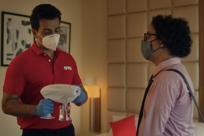 Oyo looks to spread safety with 'first spray, then stay' and Sonu Sood