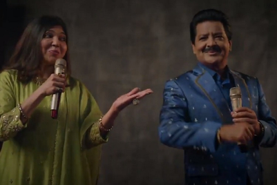 Alka Yagnik and Udit Narayan take the Cred audition