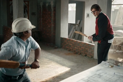 Amitabh Bachchan, Dr. Fixit use humour to show importance of partnerships in waterproofing