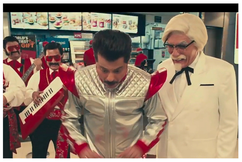 KFC awes Anil Kapoor with its value burgers