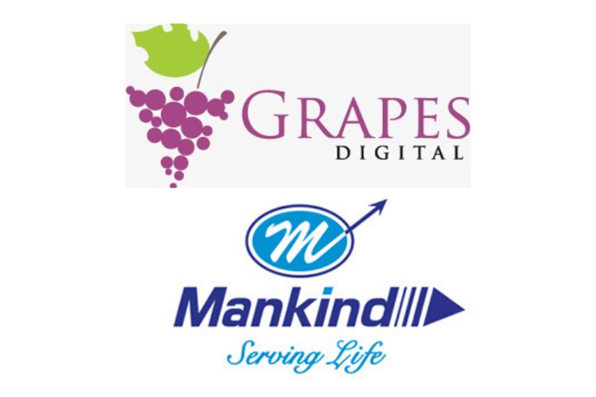 Grapes Digital bags PR duties for Mankind Pharma