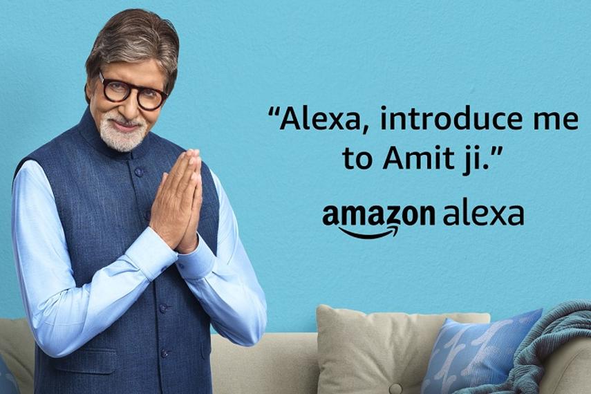 Amazon Echo adds Amitabh Bachchan's voice