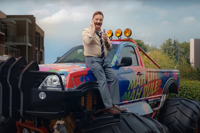 Snickers gets Vinay Pathak to return a monster truck