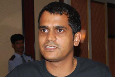 The next exit at dentsu is Santosh Padhi