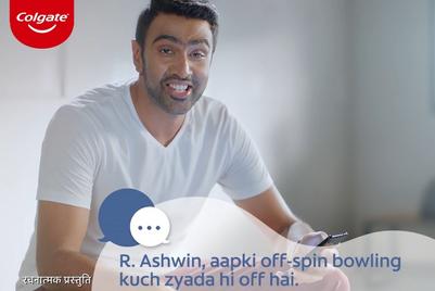 Colgate takes on trolls with Jasprit Bumrah, Ranveer Singh and Ravichandran Ashwin