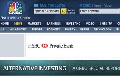 CNBC和汇丰银行因赞助协议联姻