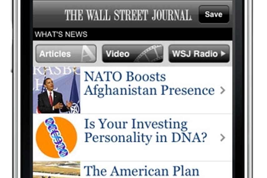 Murdoch将向华尔街报手机版读者收费