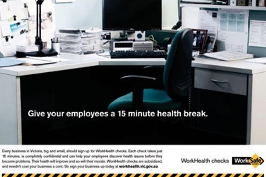 维多利亚工作安全局 | 工作健康检查 | 澳大利亚