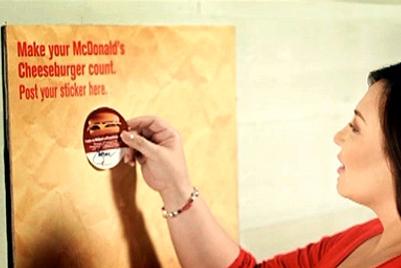 麦当劳 | Make your cheeseburger count | 菲律宾