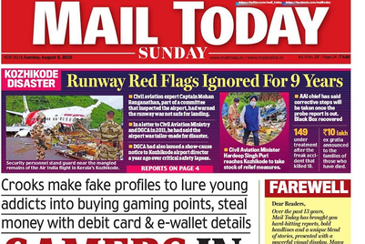 Delhi's Mail Today to suspend print edition