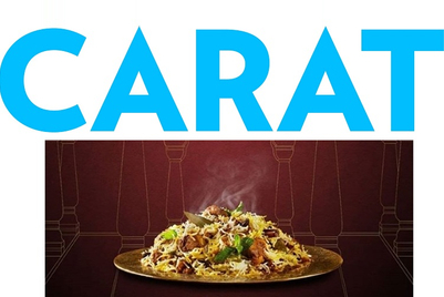 Behrouz Biryani assigns media to Carat and digital to Columbus